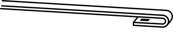 Trico Exact Fit Hybrid Wiper Blade 475mm HF480 Sparesbox - Image 5