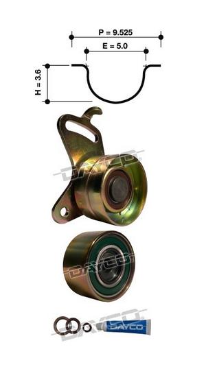Dayco Timing Belt Kit KTBA019 Sparesbox - Image 11