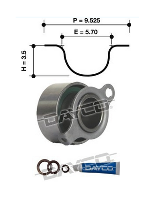 Dayco Timing Belt Kit KTBA038 Sparesbox - Image 11