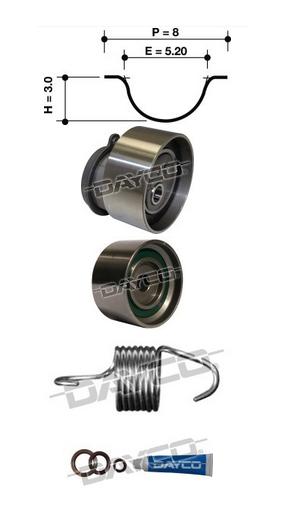 Dayco Timing Belt Kit KTBA045 Sparesbox - Image 11
