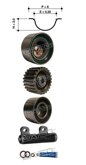 Dayco Timing Belt Kit KTBA075H Sparesbox - Image 11