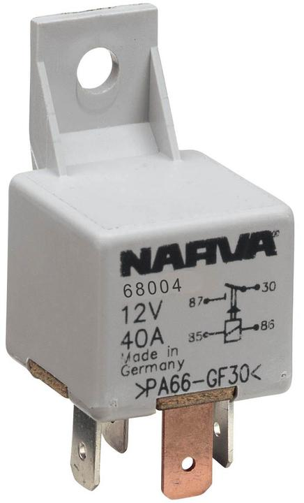 Narva Relay 12v 4pin 40 Amp 68004bl
