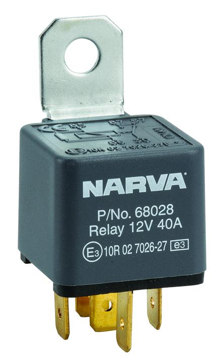 Narva Relay 12v 5pin 40 Amp 68028bl